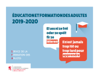Catalogue Education et Formations des Adultes 2019-2020