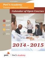 PWC Calendar of Open Courses 2014-2015