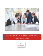 Catalogue Formations 2017 Lean Six Sigma Lifelong