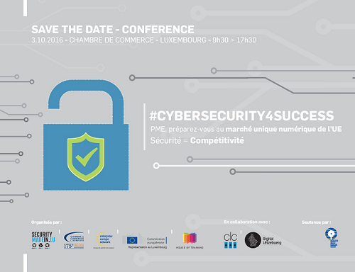 Conf rence cybersecurity4success lifelong for Chambre de commerce luxembourg formation