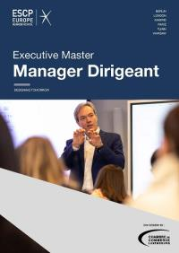 Executive Master Manager Dirigeant