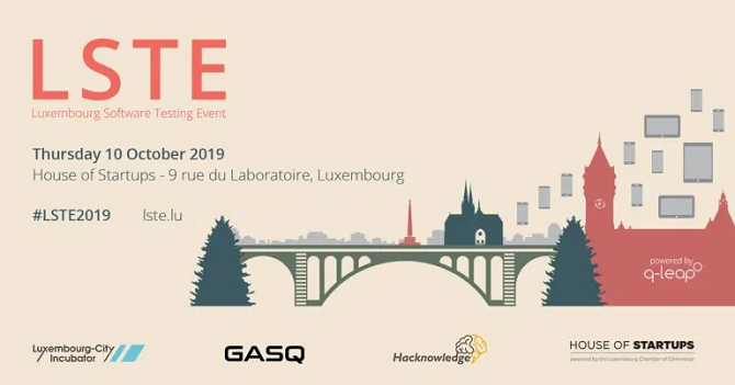Luxembourg Software Testing Event_2019