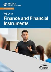 MBA in Finance and Financial  Instruments
