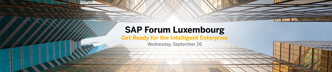 SAP Forum Luxembourg