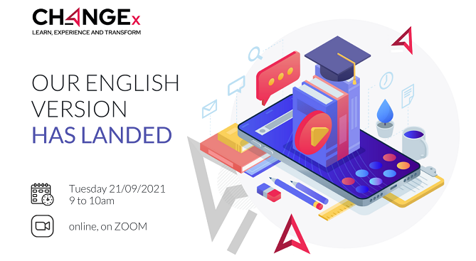 Webinar - CHANGEx Our English version has landed!